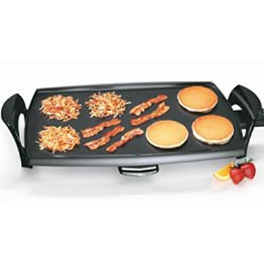 Finest By Presto 22  Professional Electric Griddle