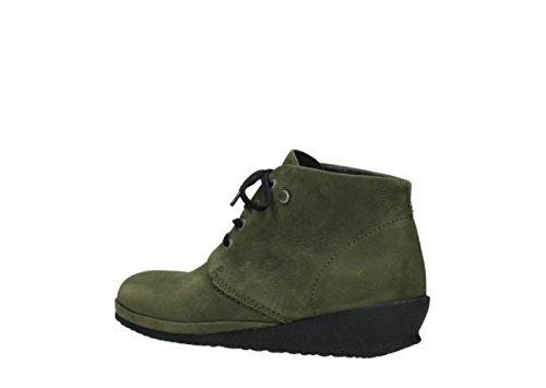 Wolky Sacramento 11732 Nubuck à Comfort Chaussures Vert lacets UwqnaA1xU