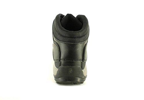 Hombre / Negro Hombre Tradesafe ROCK Cordones Botas de protección con puntera de acero - Negro/gris - GB Tallas 5-12