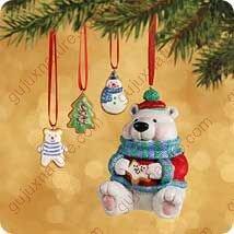 SWEET TOOTH TREATS #1 2002 Hallmark Ornament QX8193 (Hallmark Cookie Jars)