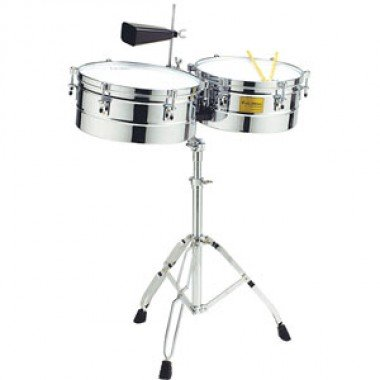 Tycoon TTI-1415 C 14″ & 15″ Chrome Shell Timbales by Tycoon Percussion