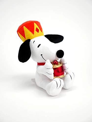 Hallmark Plush Wise Man Snoopy Stuffed Animal (Myrrh), Three Kings -