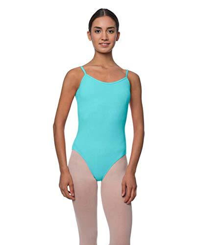 e4eed4b9fa LULLI Dancewear Adults Velvety Camisole Ballet Leotard Lily AQUXS