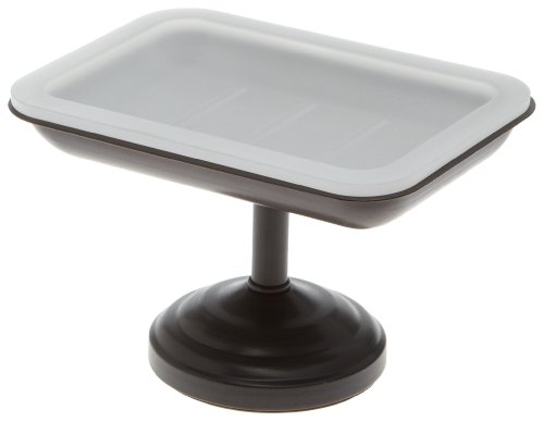 Taymor 02-D8586CORB Pedestal Soap Dish, Coated Oil Rubbed Bronze