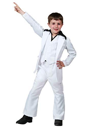 Child Deluxe Saturday Night Fever Costume Medium (8-10)]()