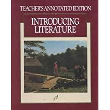 Introducing Literature (Teacher's Annotated Edition )