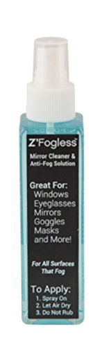 Zadro Z'Fogless Fog Free Spray Solution Fog Free Spray Solution