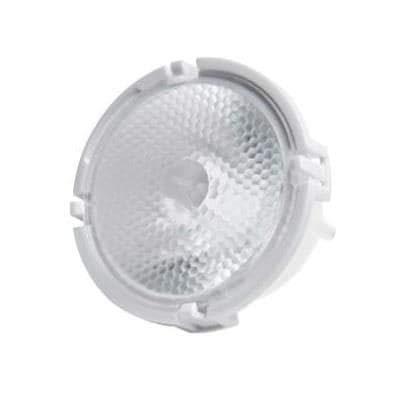 LED Lighting Lenses Assemblies Flood Lens 39 Deg TIR with Holder, Pack of 10 (LLFL-3T06-H)