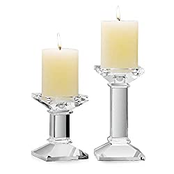 Romantic Crystal Glass Candle Holder
