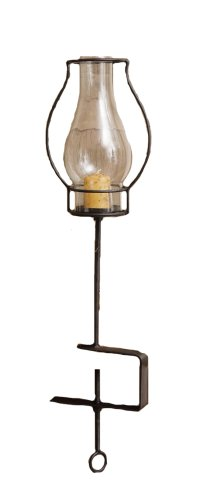 Your Heart's Delight Hurricane Candle Holder Lantern, 17-1/4-Inch by Your Heart's Delight