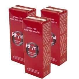 Rhynil Stop Snoring Spray 3 Pack by Rhynil