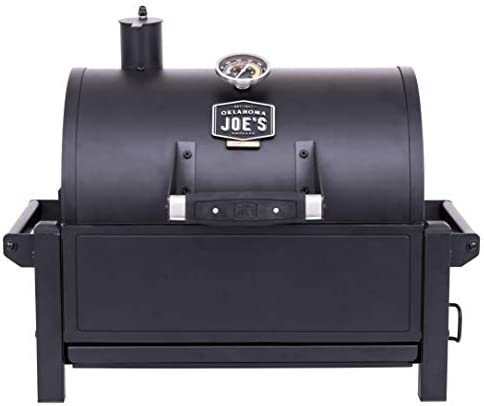 Oklahoma Joe s 19402088 Rambler Portable Charcoal Grill, Black