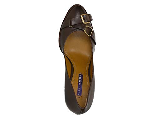 874 Number With Lauren A2006 In F1803 Heeled Ralf Brown Platform R0222 Leather Pumps Model qvgwz