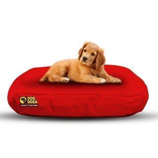 Camas ovaladas Impermeables para Perro Doza, Color Rojo, 80 cm x 50 cm: Amazon.es: Productos para mascotas