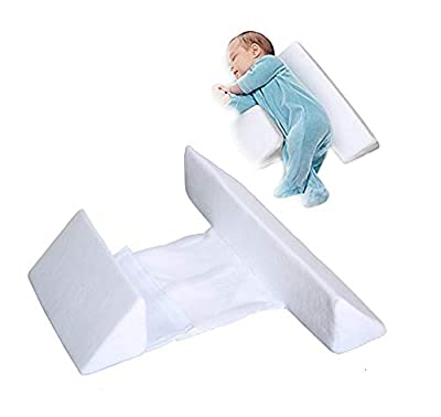 UNIKbrush Newborn Baby Sleep Pillow Side Support for Infant