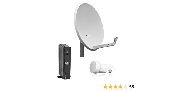 Opticum 9000 - Equipo de TV por satélite completo (X80, HDMI ...