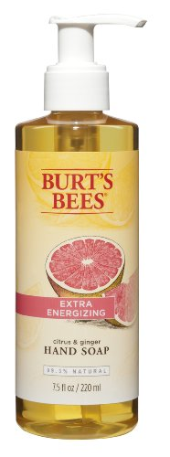 Burts Bees Citrus   Ginger Hand Soap  7 5 Fluid Ounces  Pack Of 3