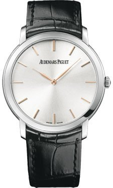 Audemars Piguet Jules Audemars Extra Thin Silver Dial Automatic Mens Watch 15180BCOOA002CR01