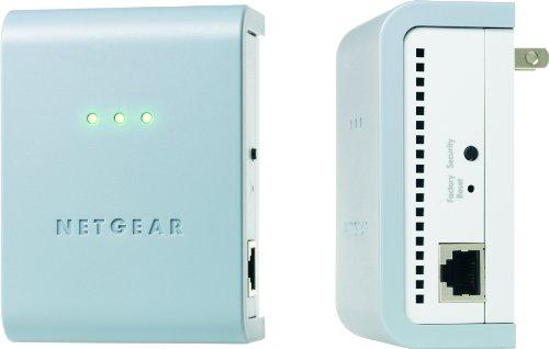 NETGEAR XAVB101 Powerline AV Ethernet Adapter Kit by NETGEAR (Image #1)'