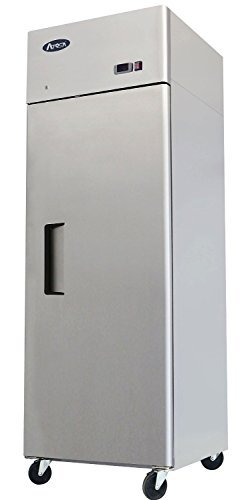 Atosa USA MBF8004 Series Stainless Steel 29-Inch One Door Upright Refrigerator - Energy Star Rated by Atosa USA