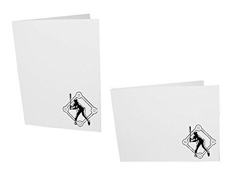 Baseball Player 4x6 Event Photo Folders