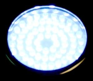 Ocean Mist Compact Aqua Light 72 LED White