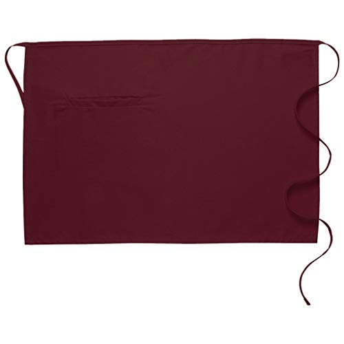 DayStar Apparel 110-I Inset Pocket Half Bistro Apron, ()