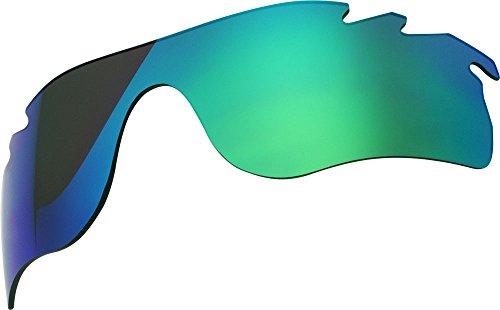 Zero Replacement Lenses For Oakley Radarlock Path Sunglasses Green Mirror - Lens Radarlock