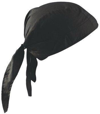 Nougies 100% Cotton Deluxe Doo Rag Tie Hat With Elastic Rear Band - 1 EA (Tuff Nougies Doo Rag)