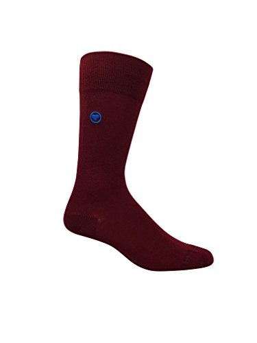 Love Sock Company 5 pairs of Men's organic cotton dress socks in a luxurious sock gift box. Fun, bold and solid socks for men, made in Europe, super soft, great gift idea. Italiano Box Set for Men by Love Sock Company (Image #5)