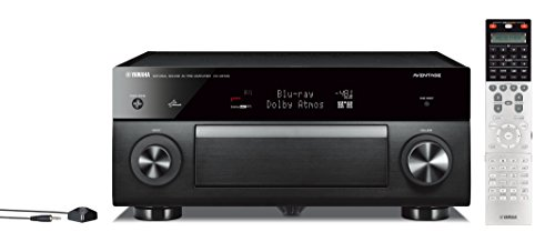 Yamaha CX-A5100 11.2-CH MusicCast Preamplifier with Built-In Wi-Fi & Bluetooth (Black), Works with Alexa