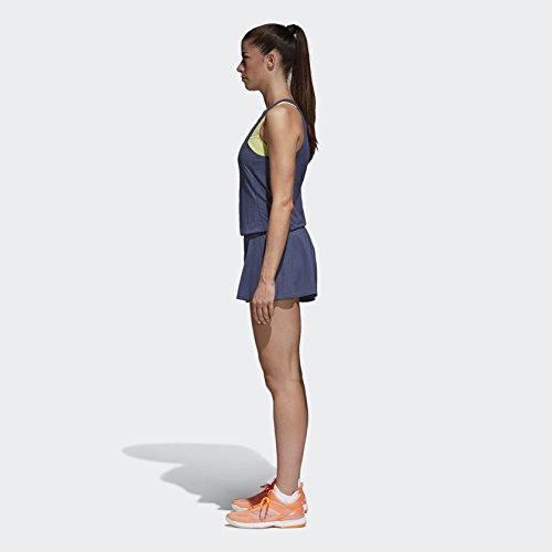 adidas Women's Melbourne Tennis Jumpsuit, Noble Indigo (Large)