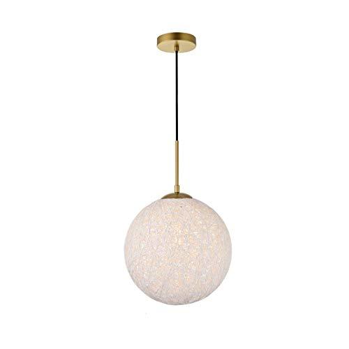 Elegant Lighting Malibu 1 Light Brass Pendant with Frosted White - 1 Pendant Malibu Light