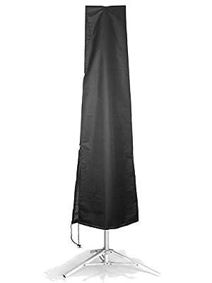 ieGeek Outdoor Umbrella Covers, Waterproof Parasol Umbrella Storage Bag with Zipper, Suitable for 7-11ft Courtyard Umbrellas