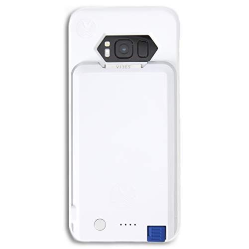 Samsung Galaxy S8 Battery Case with Removable USB-C Battery Pack for Samsung Galaxy S8 by Vibes Modular (White)