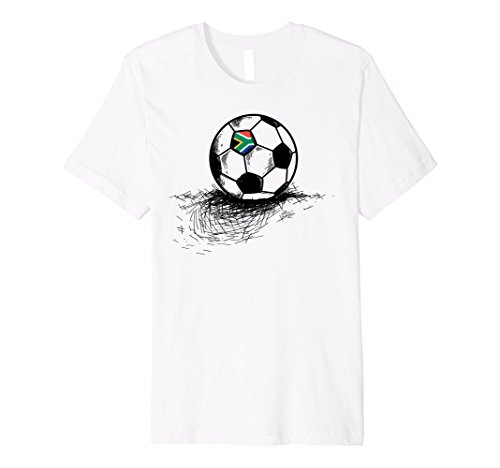 fan products of South Africa Soccer Ball Flag Jersey Shirt African Football