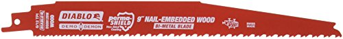 Diablo DS0912BW25 Demo Demon 9 in. Reciprocating Saw Blade (25-Pack)