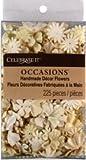 Celebrate It Handmade Paper Flower Confetti, Cream