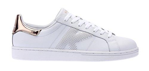 Kelme Omaha Micro, Sneaker Unisex-Adulto Bianco (White / Oro 630)