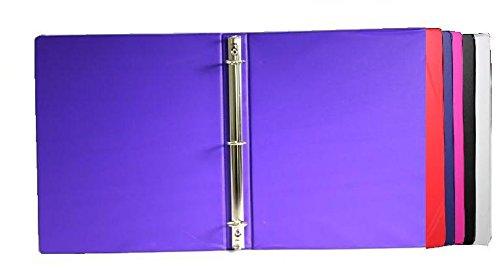 1'' Plain Binder No Inside Pockets 48 pcs sku# 1858558MA