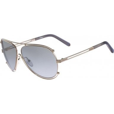 Chloe CE121S-744 Ladies CE121S Isidora Gold - Chloe Mens Sunglasses