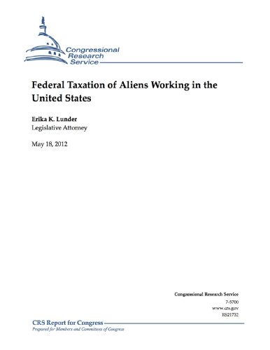 Federal Taxation of Aliens Working in the United - Erika's Service Tax