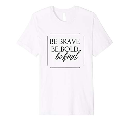 Bold T-shirt Yellow - Brave Bold Tshirt | Inspirational Tshirt