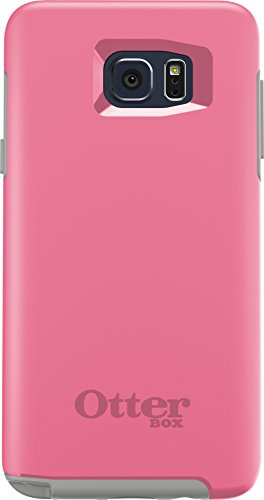 OtterBox SYMMETRY SERIES Case for Samsung Galaxy Note5 - Retail Packaging - PINK PEBBLE(HIBISCUS PINK/SLEET GREY)