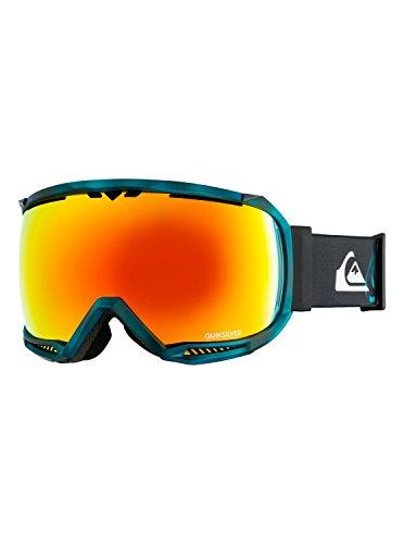 Quiksilver Mens Hubble Tr - Ski/Snowboard Goggles for Men Snowboard/Ski Goggles Blue One Size