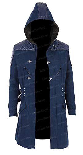 Devil May Cry 5 Nero Coat Cosplay Costume]()