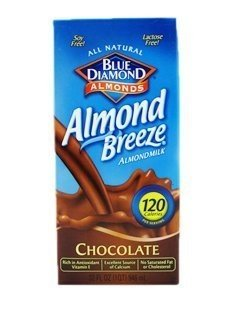 Blue Diamond Chocolate Almond Breeze ( 12x32 OZ) ( Value Bulk Multi-pack)