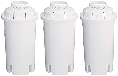 Sapphire Replacement Water Filters (4 Pack), White