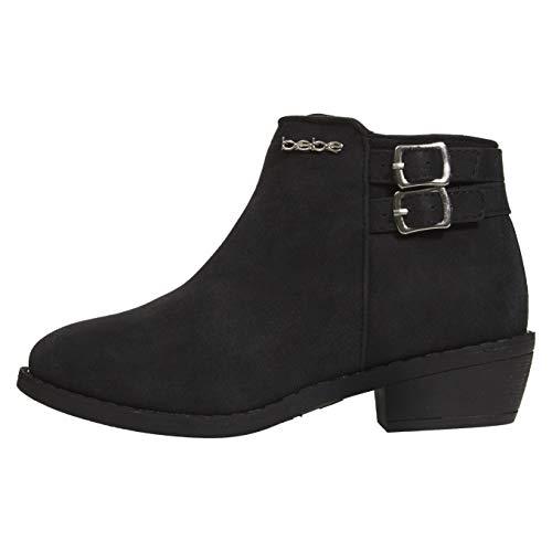 bebe Girls Ankle Metallic Boots Size 3 Double