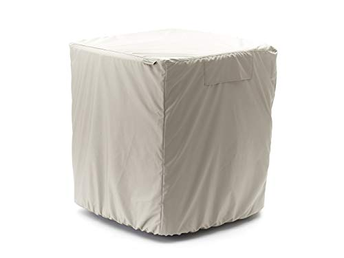 Covermates - Air Conditioner Cover - AC Cover for Outdoor Protection - Water Resistant and Weatherproof - Khaki
